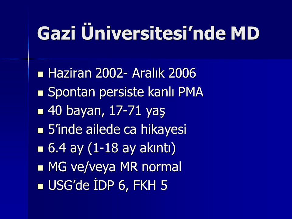 Gazi Üniversitesi'nde MD
