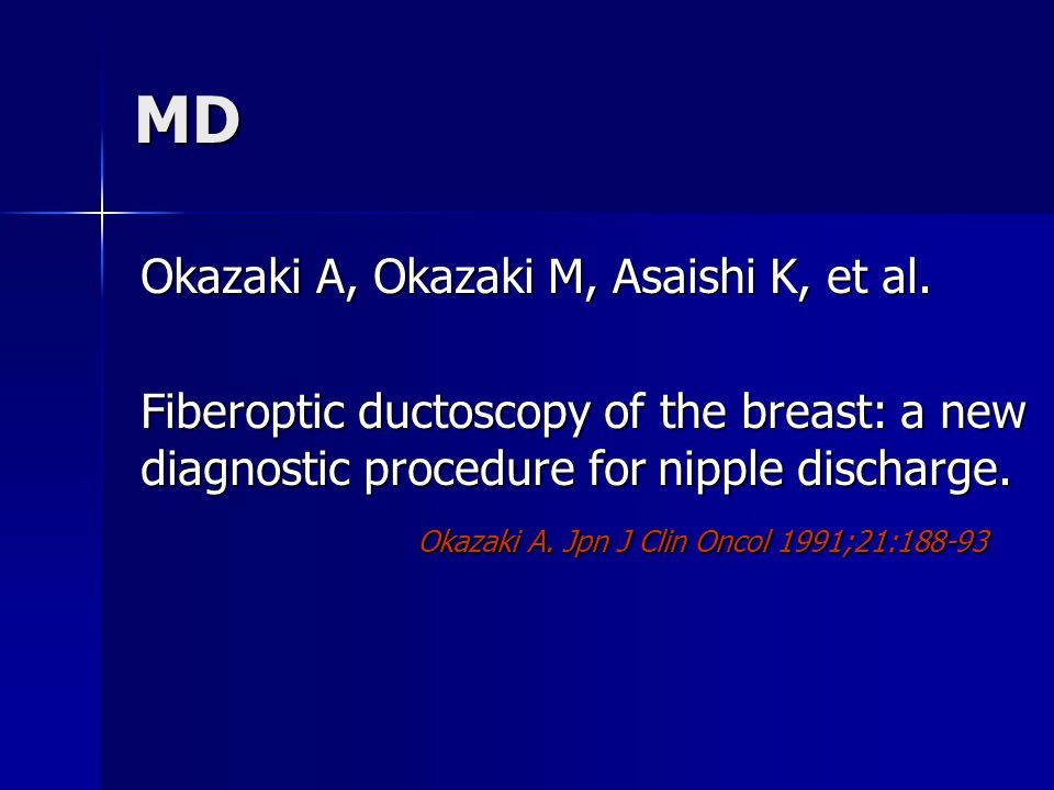 MD Okazaki A, Okazaki M, Asaishi K, et al.