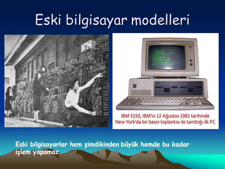 Eski bilgisayar modelleri