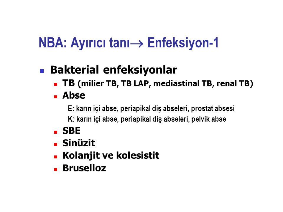NBA: Ayırıcı tanı Enfeksiyon-1
