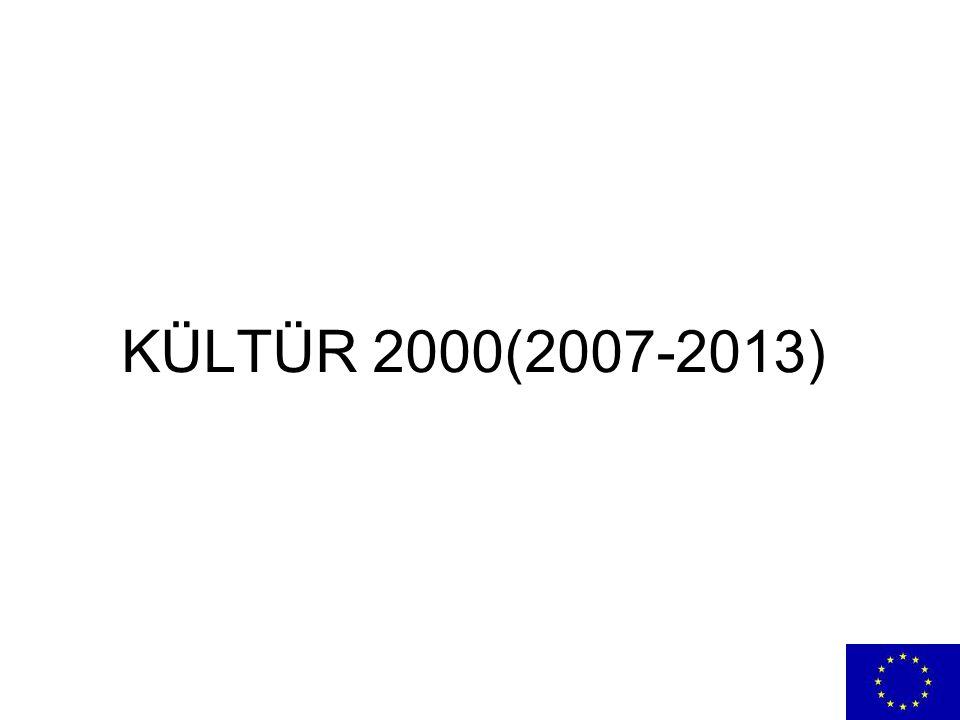 KÜLTÜR 2000(2007-2013)
