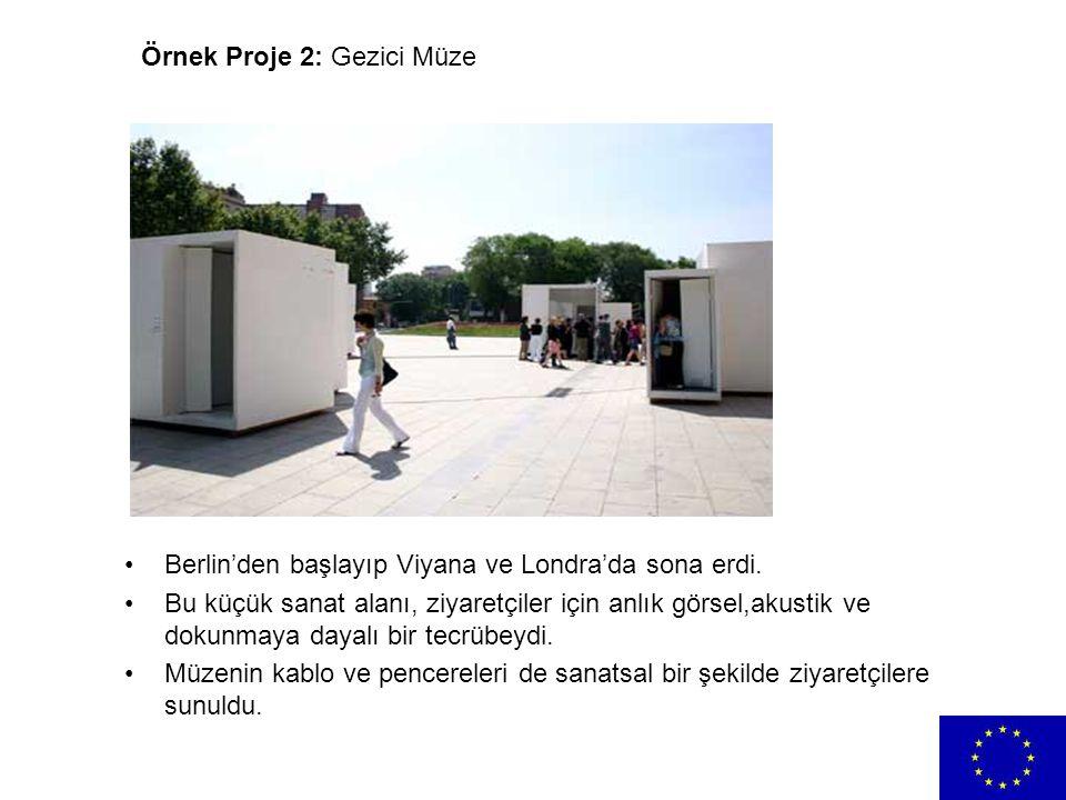 Örnek Proje 2: Gezici Müze