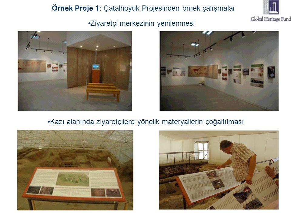 Örnek Proje 1: Çatalhöyük Projesinden örnek çalışmalar