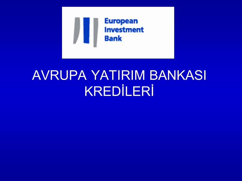 AVRUPA YATIRIM BANKASI KREDİLERİ