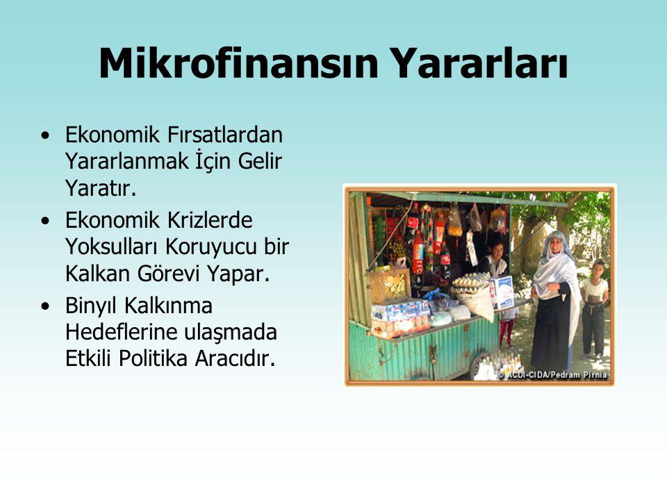 Mikrofinansın Yararları