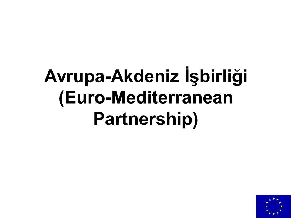 Avrupa-Akdeniz İşbirliği (Euro-Mediterranean Partnership)