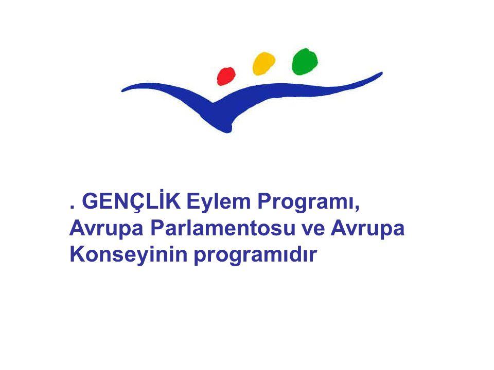 . GENÇLİK Eylem Programı, Avrupa Parlamentosu ve Avrupa Konseyinin programıdır