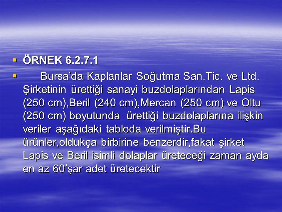 ÖRNEK 6.2.7.1