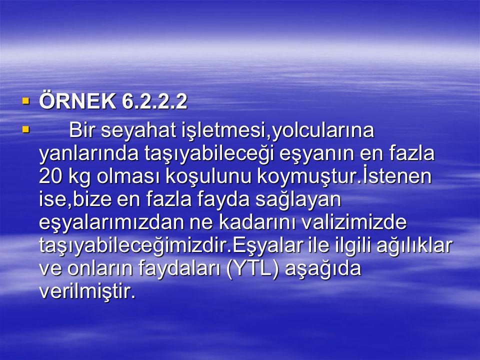 ÖRNEK 6.2.2.2