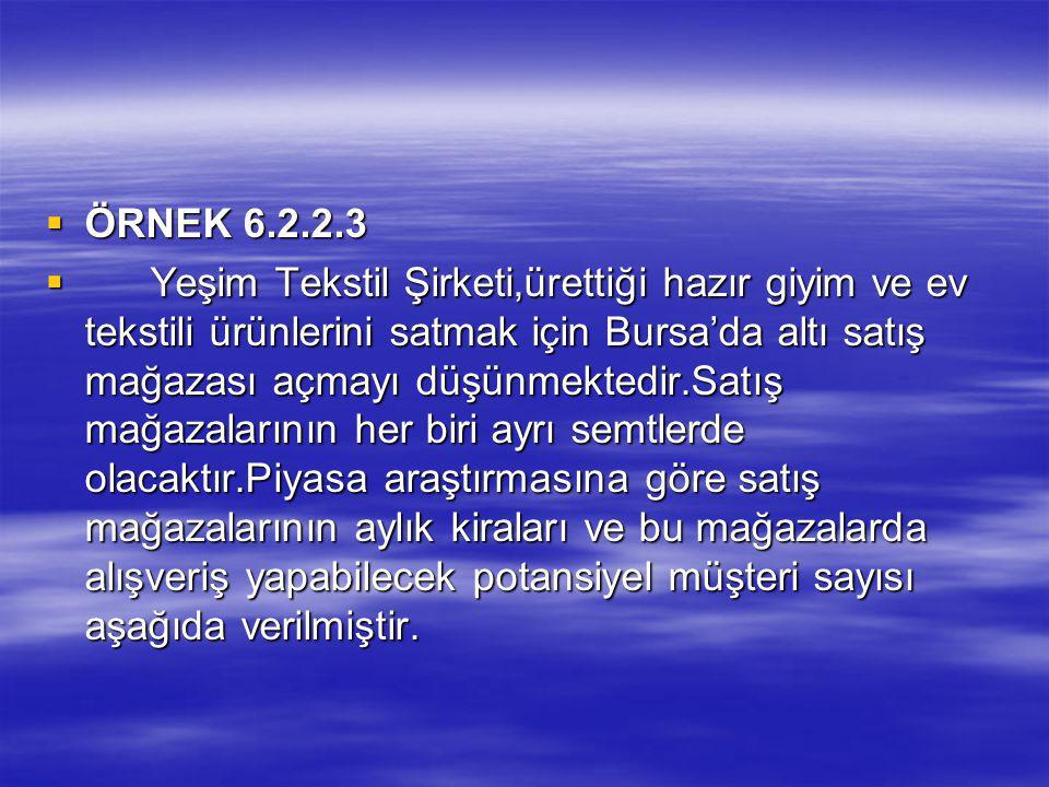 ÖRNEK 6.2.2.3
