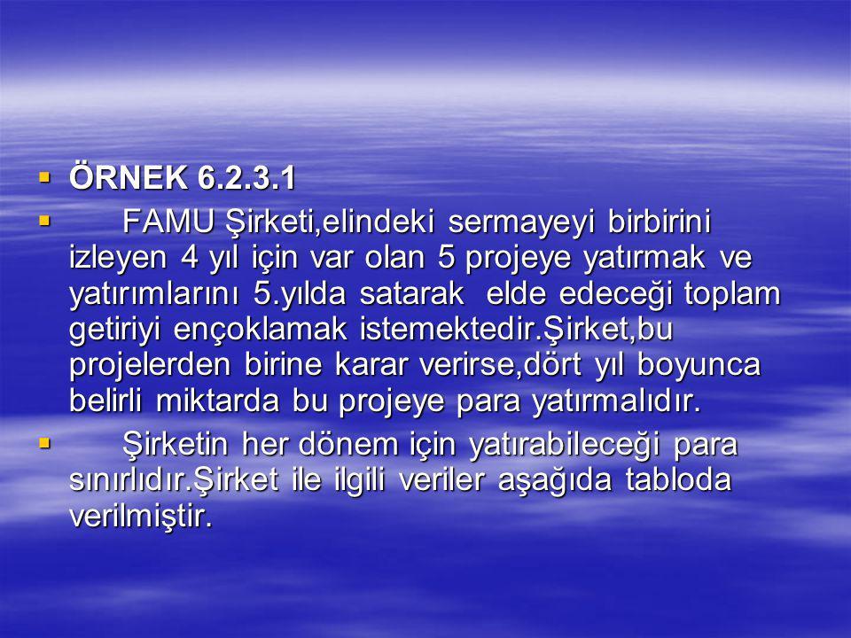 ÖRNEK 6.2.3.1