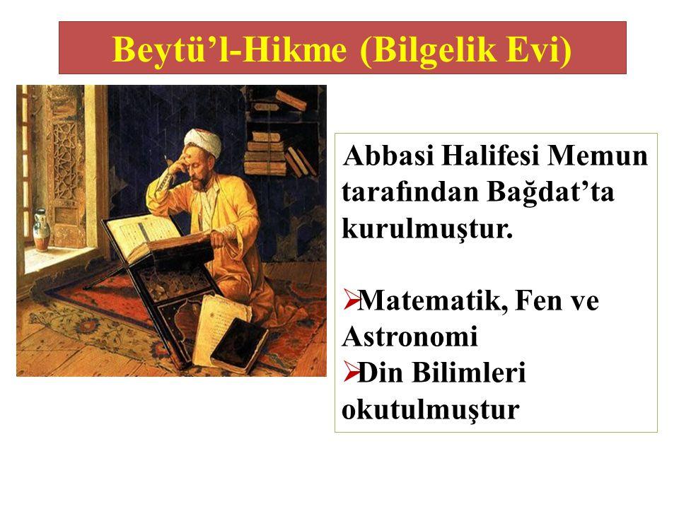 Beytü'l-Hikme (Bilgelik Evi)