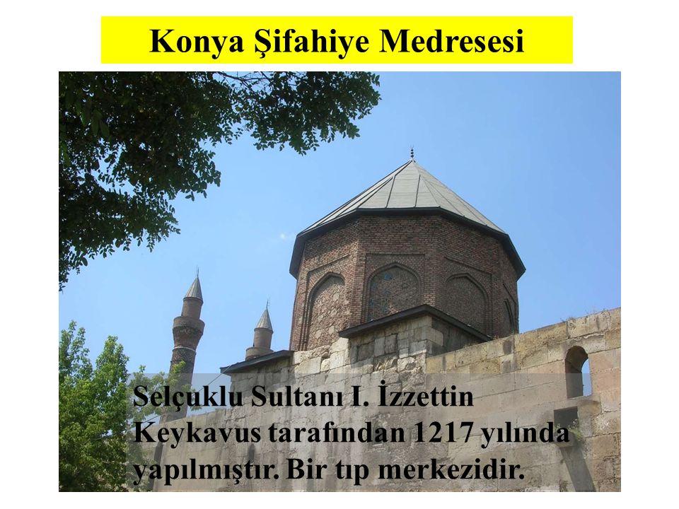 Konya Şifahiye Medresesi