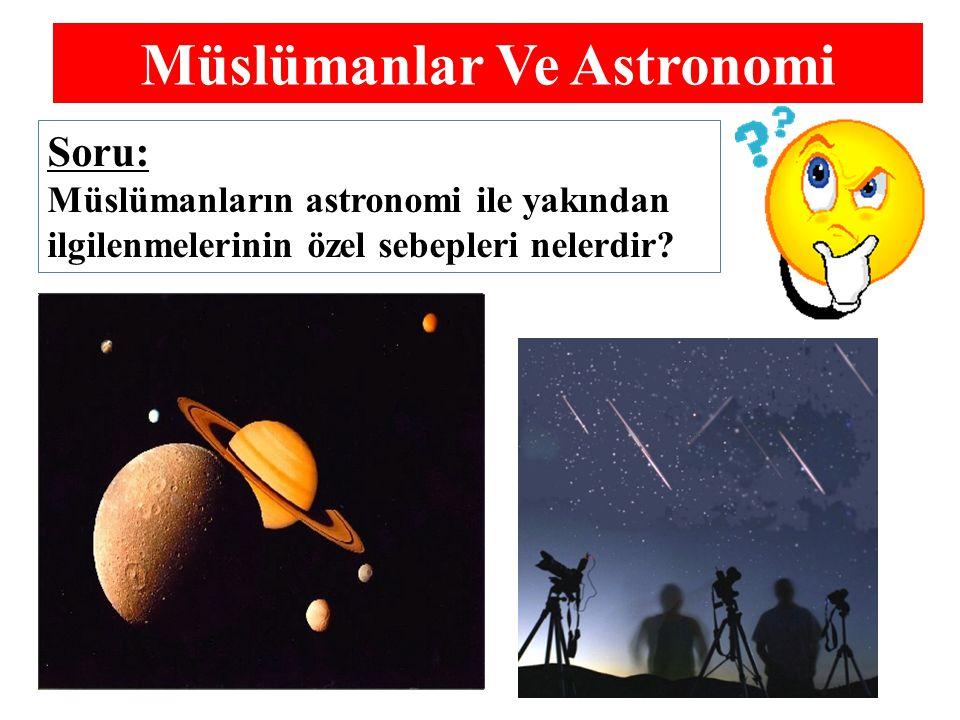 Müslümanlar Ve Astronomi