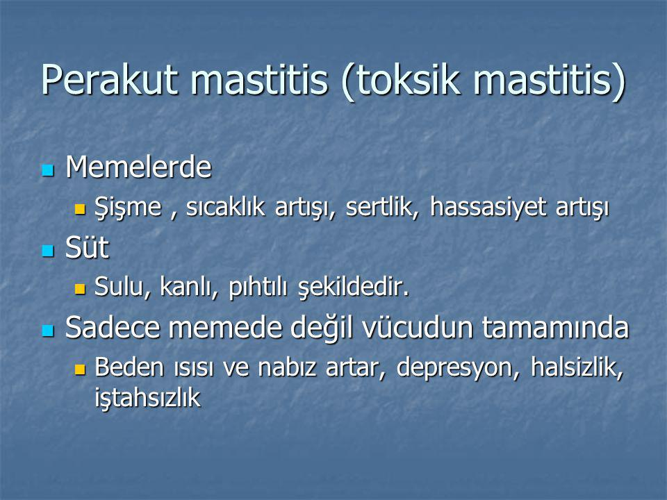 Perakut mastitis (toksik mastitis)