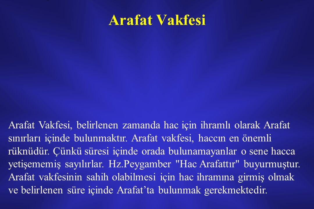 Arafat Vakfesi