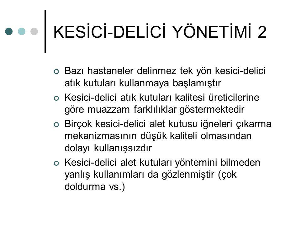 KESİCİ-DELİCİ YÖNETİMİ 2