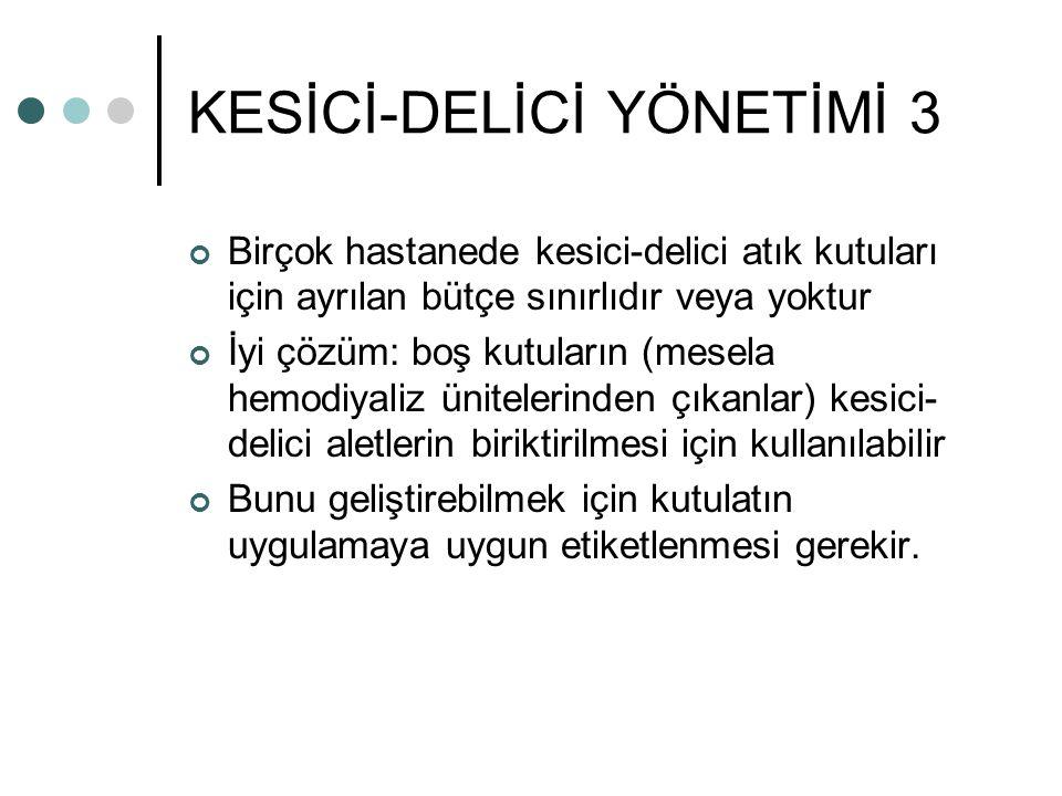 KESİCİ-DELİCİ YÖNETİMİ 3