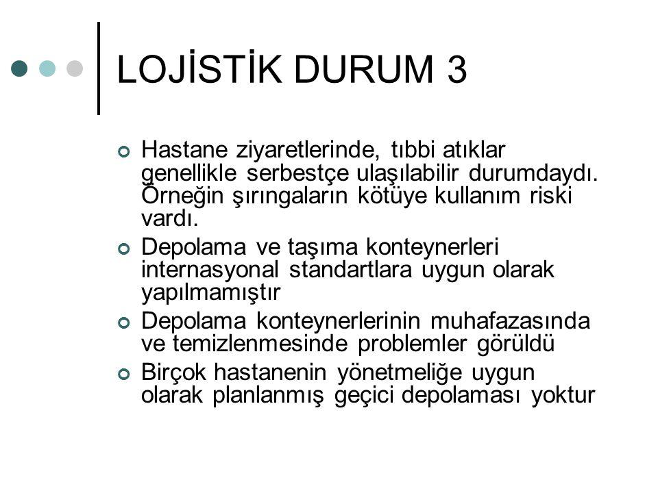 LOJİSTİK DURUM 3