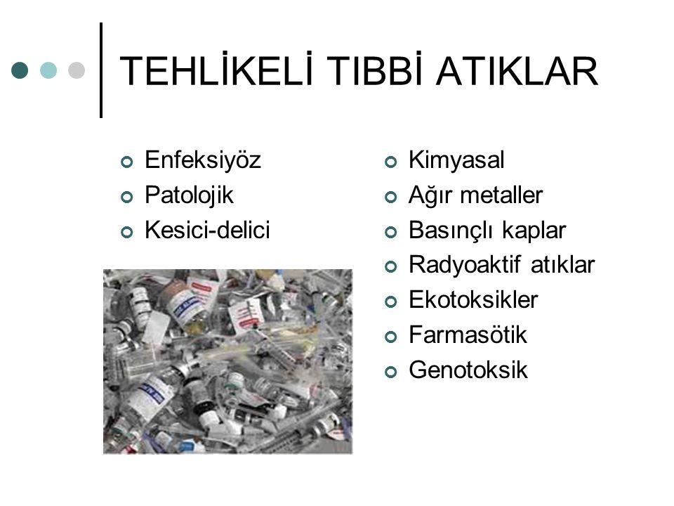TEHLİKELİ TIBBİ ATIKLAR