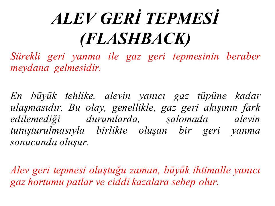 ALEV GERİ TEPMESİ (FLASHBACK)