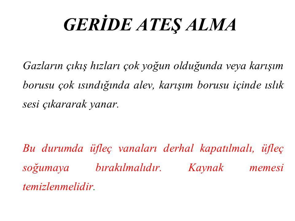 GERİDE ATEŞ ALMA