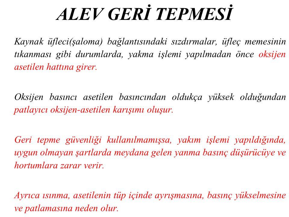 ALEV GERİ TEPMESİ