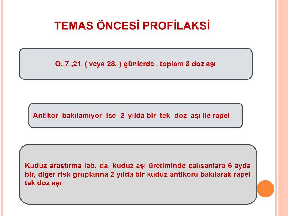 TEMAS ÖNCESİ PROFİLAKSİ