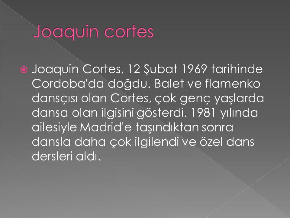 Joaquin cortes