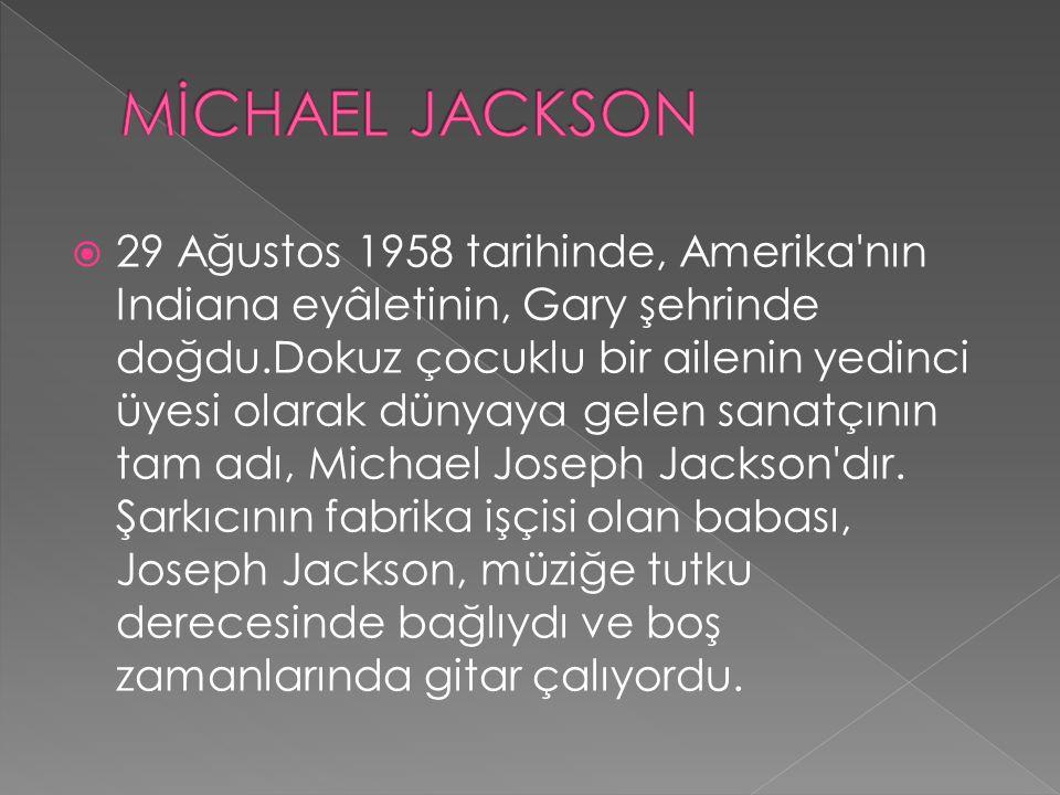 MİCHAEL JACKSON