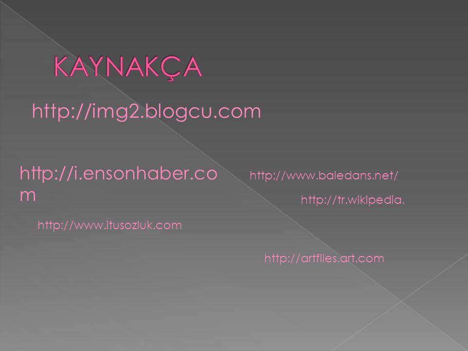 KAYNAKÇA http://img2.blogcu.com http://i.ensonhaber.com