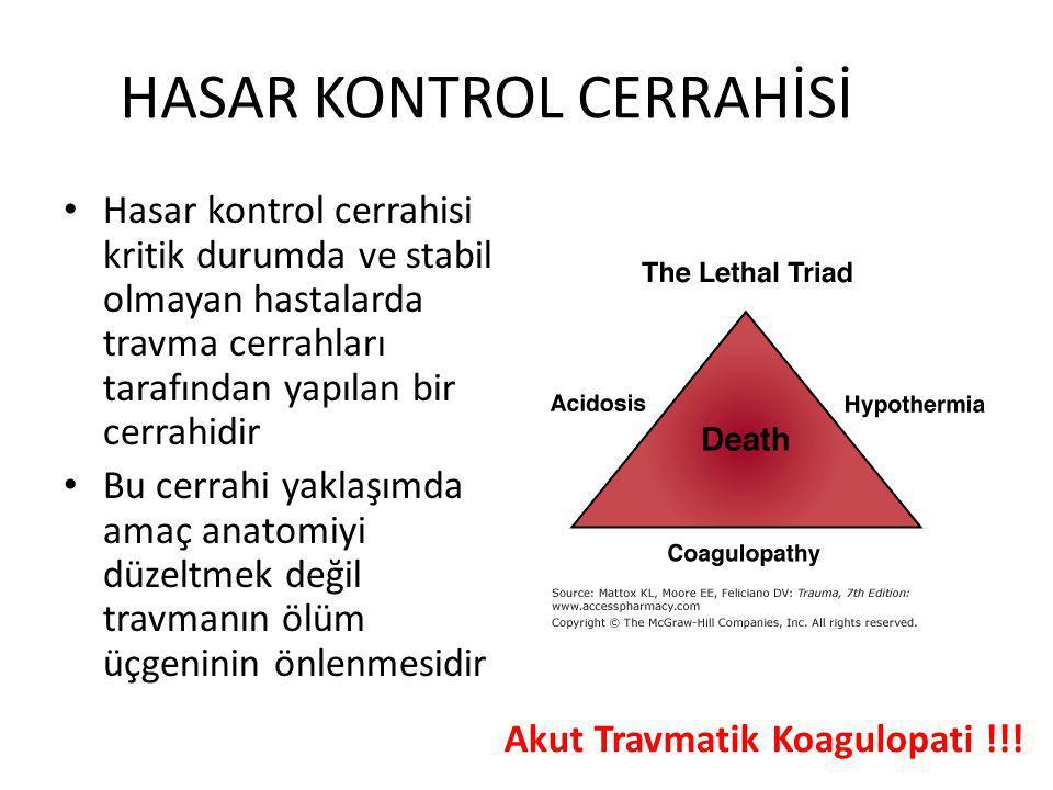 HASAR KONTROL CERRAHİSİ