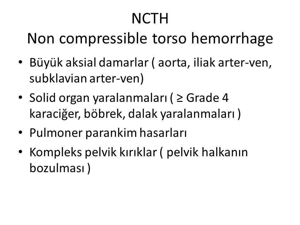 NCTH Non compressible torso hemorrhage