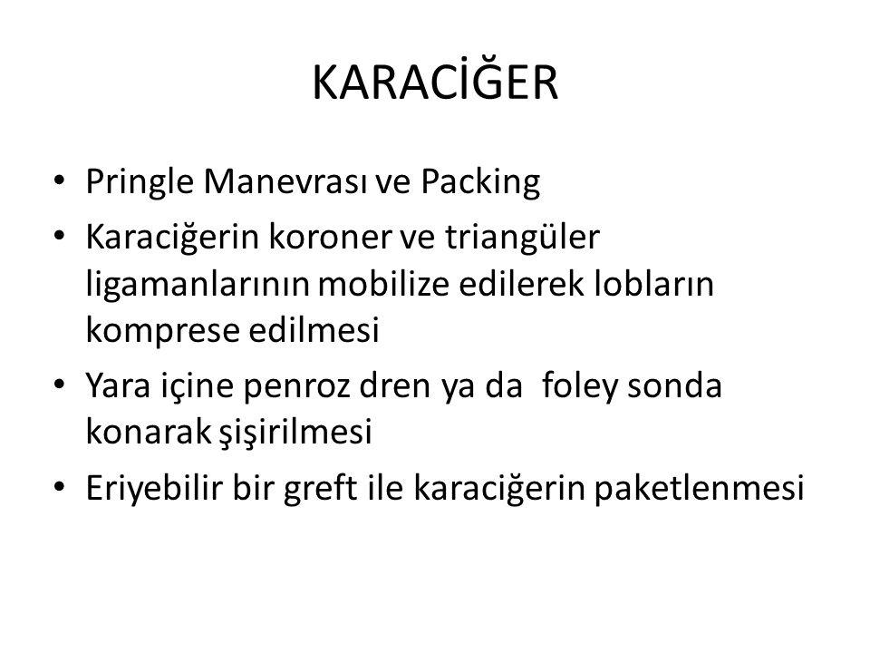 KARACİĞER Pringle Manevrası ve Packing