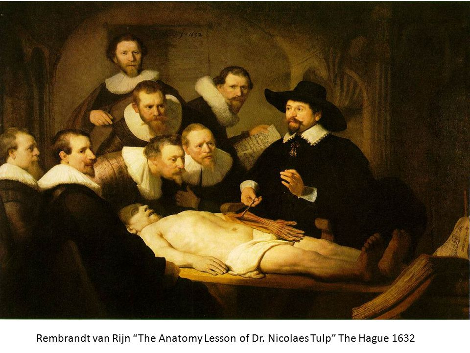 Rembrandt van Rijn The Anatomy Lesson of Dr