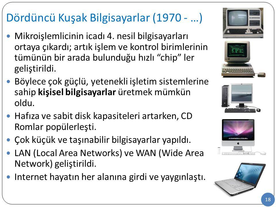 Dördüncü Kuşak Bilgisayarlar (1970 - …)