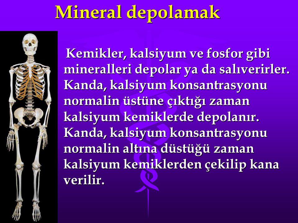 Mineral depolamak