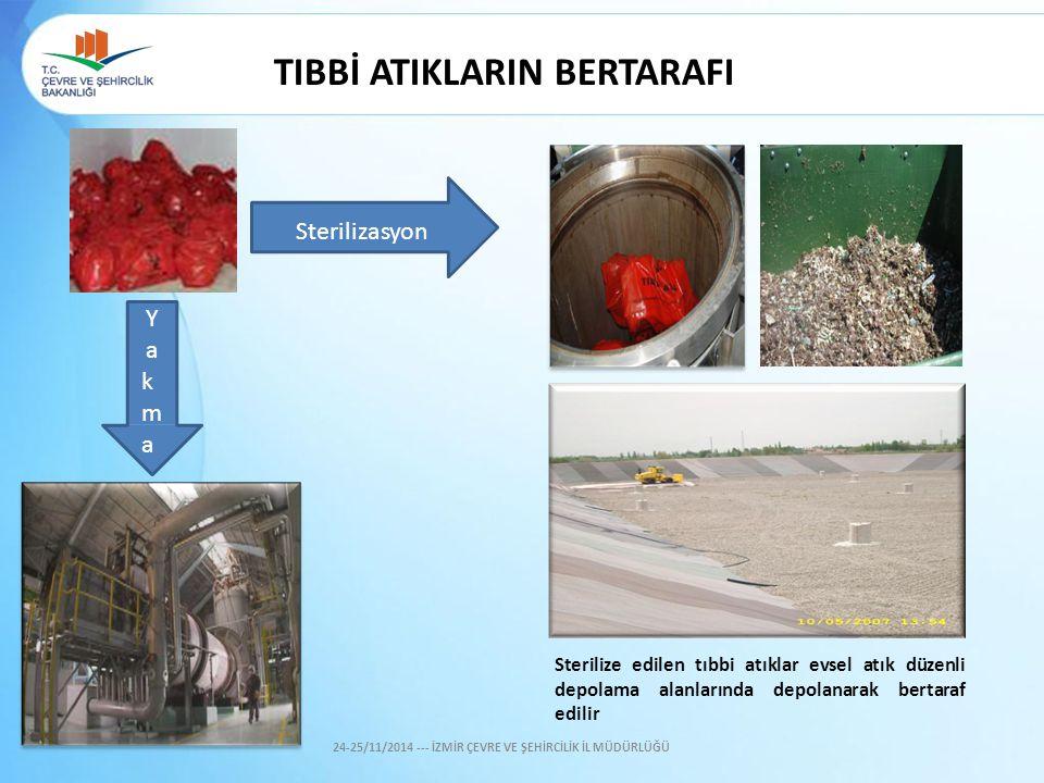 TIBBİ ATIKLARIN BERTARAFI