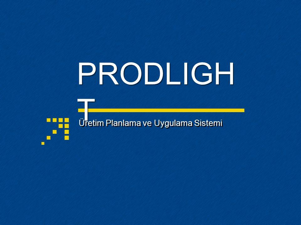 Üretim Planlama ve Uygulama Sistemi