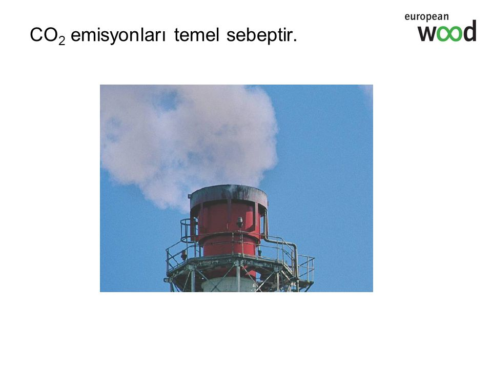 CO2 emisyonları temel sebeptir.