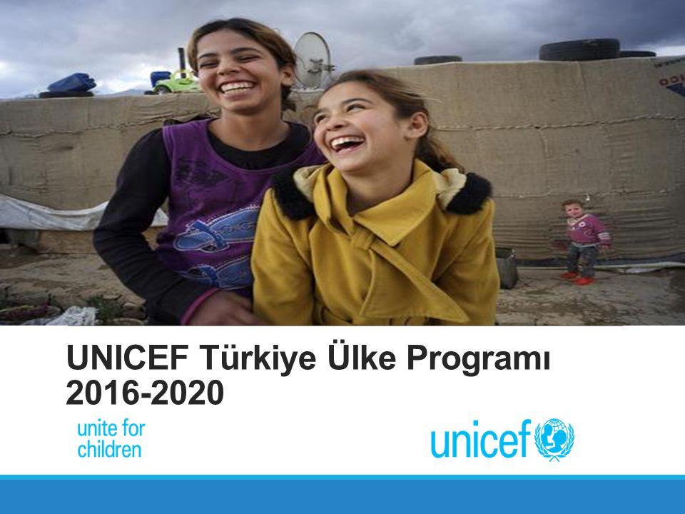 UNICEF Türkiye Ülke Programı 2016-2020