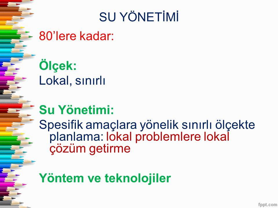 SU YÖNETİMİ