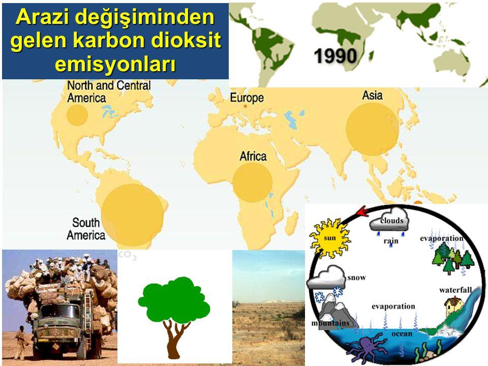 Arazi değişiminden gelen karbon dioksit emisyonları