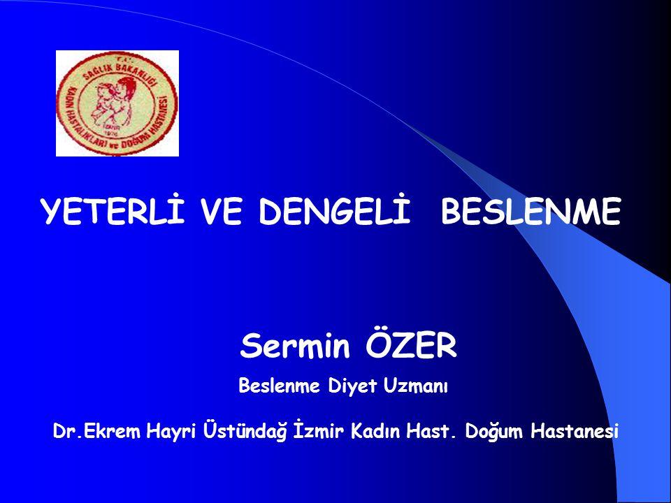 Dr.Ekrem Hayri Üstündağ İzmir Kadın Hast. Doğum Hastanesi