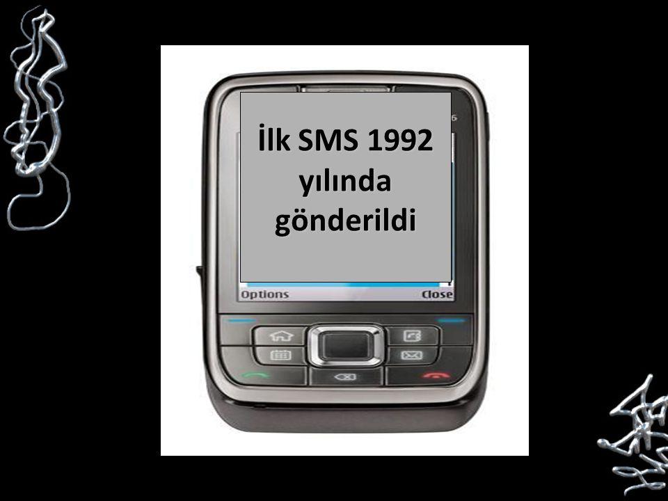 İlk SMS 1992 yılında gönderildi