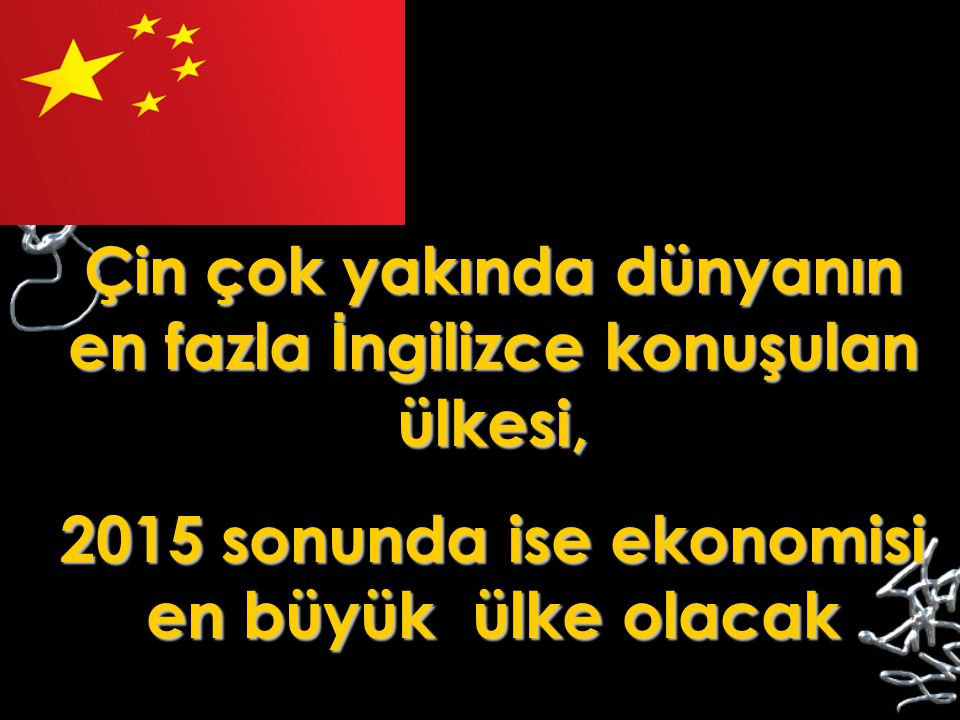 Çin çok yakında dünyanın en fazla İngilizce konuşulan ülkesi,