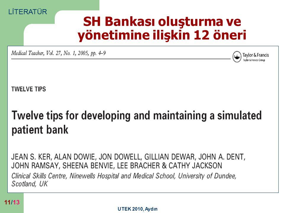 SH Bankası oluşturma ve yönetimine ilişkin 12 öneri