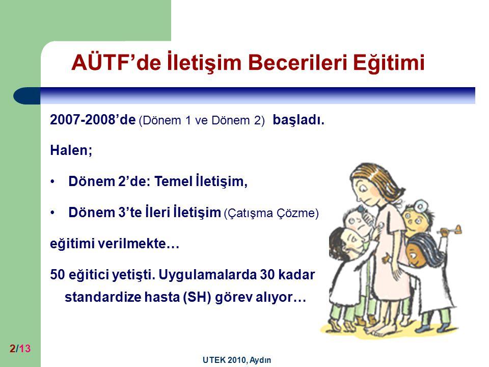 AÜTF'de İletişim Becerileri Eğitimi