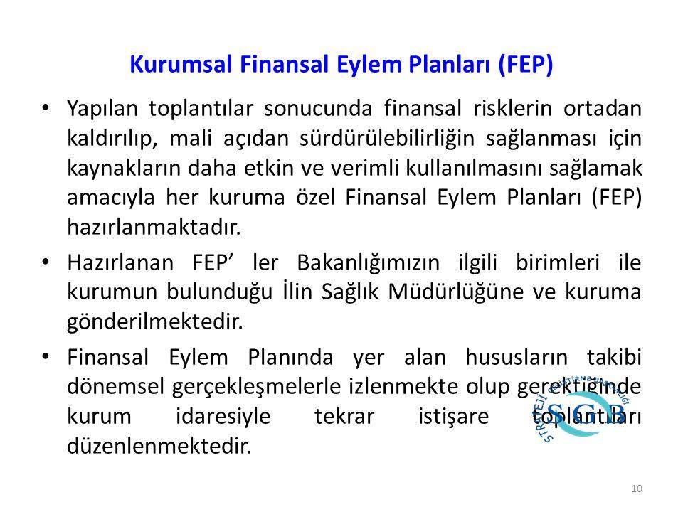 Kurumsal Finansal Eylem Planları (FEP)