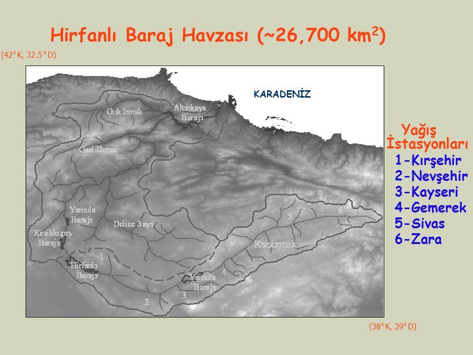 Hirfanlı Baraj Havzası (~26,700 km2)